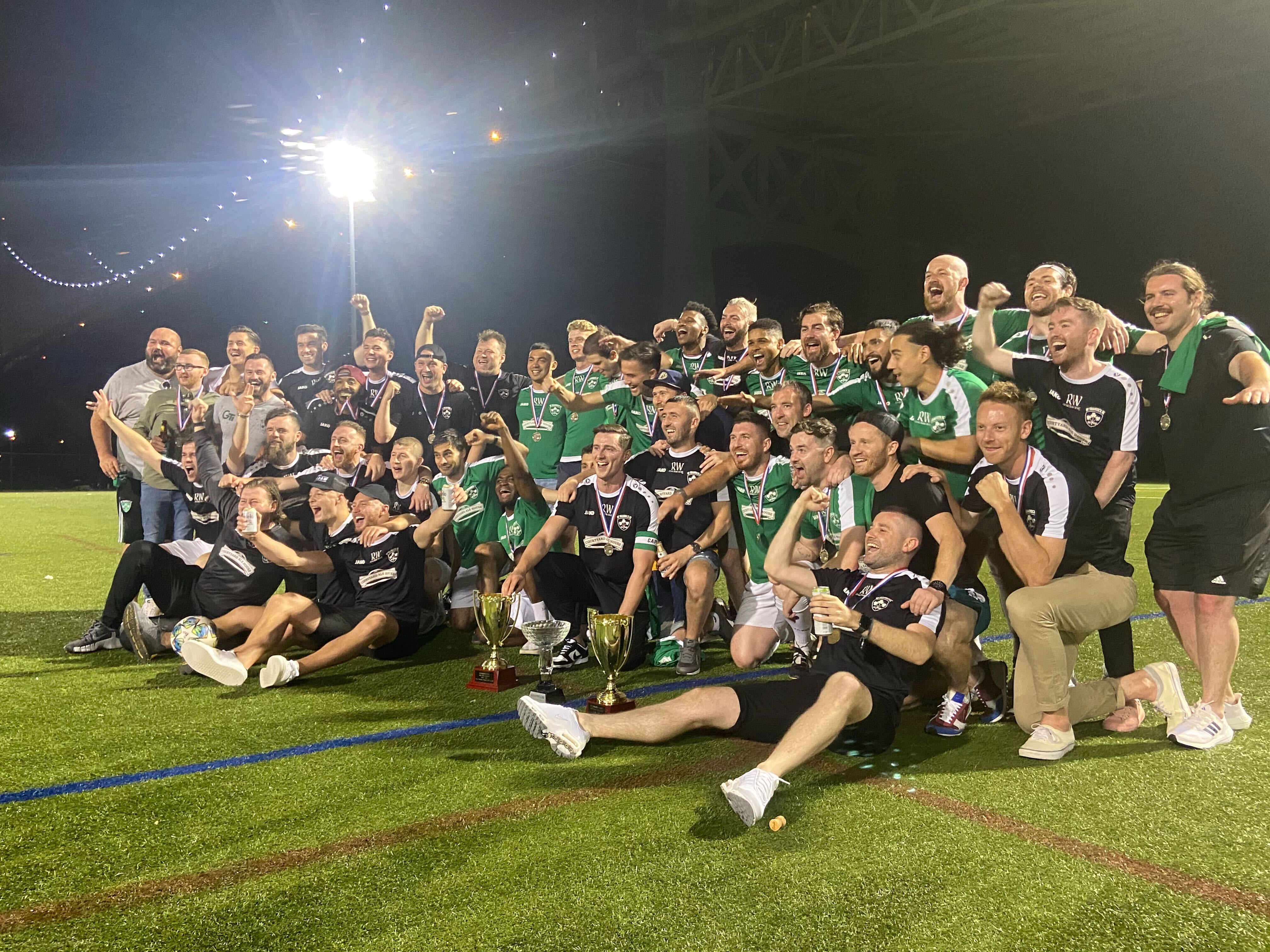 New York Shamrock SC Win Division 1 Title After 22 Weeks of Play