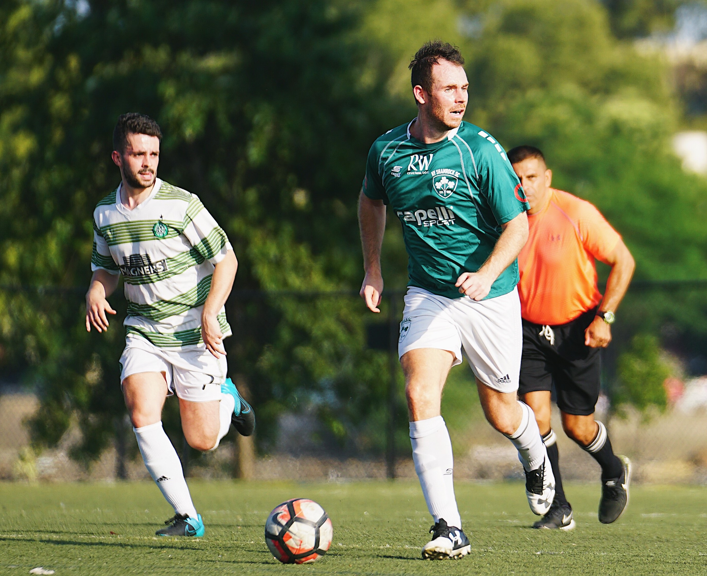 Shamrocks striker James Whyte named CSL Player of the Week