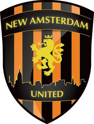 The former logo for New Amsterdam United FC