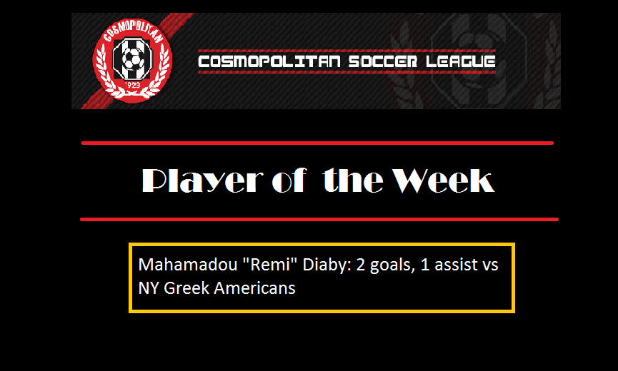 Remi wins Week 4 Player of the Week