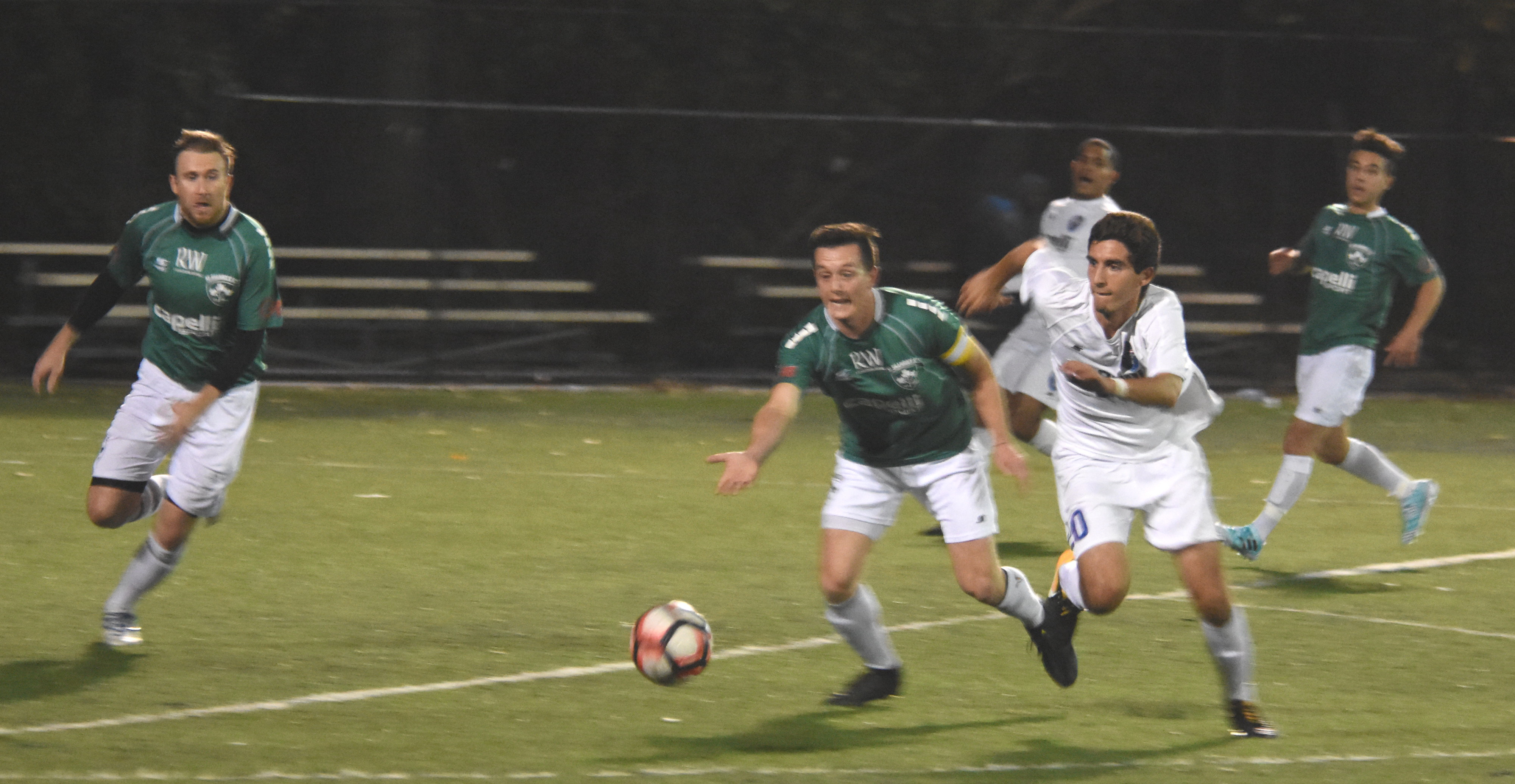 NY Greeks break Shamrocks' playoff hope with 3-1 win